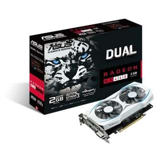 ASUS Dual Radeon RX 460 OC edition 2GB GDDR5 for best eSports gaming & color-matched PC build