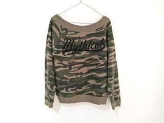 Army Top Pullover