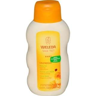 Weleda, Baby Oil, Calendula, 6.8 fl oz (200 ml)