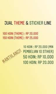 theme & sticker line