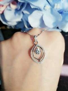 ✨ 十分大睇  圍鑽鑽石吊墜 ✨