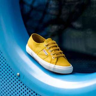 Yellow Mustard Superga Shoes