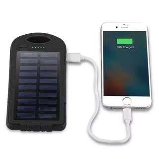 Waterproof Solar Powerbank