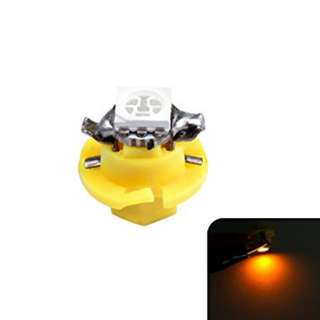 T5 5050 1SMD Car LED Dashboard Dash Gauge Instrument Light Yellow