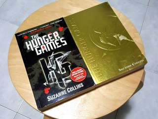 The Hunger Games by Suzanne Collins (book 1 of Trilogy)