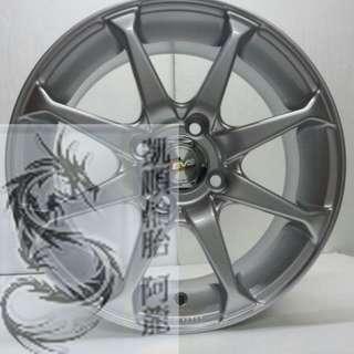 14吋 4孔114 鋁圈 SENTRA/GALANT/TIIDA/MATRIX 特殊車系專用鋁圈規格
