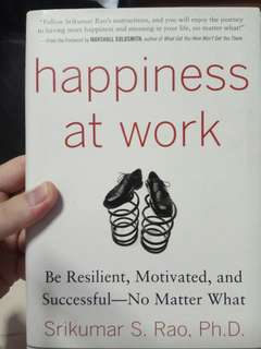 Happiness at Work: Be Resilient, Motivated, and Successful - - -  No Matter What