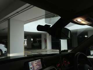 BlackVue DR590-2CH installed on BMW 320i