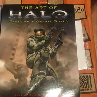 The art of halo, Creating a Virtual World