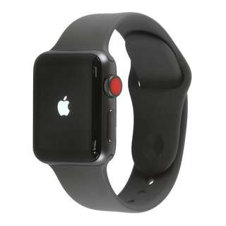 Apple Watch Series 3 GPS (Space Grey Aluminium Case with Grey Sport Band - 42mm)