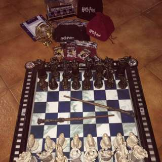 REDUCED: Original Harry Potter Chess Set, Magazines And Much More