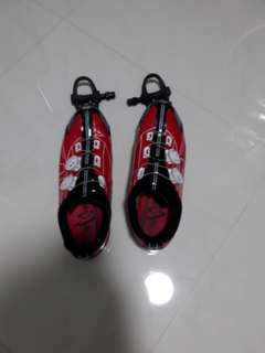 Spiuk shoe full cleats set