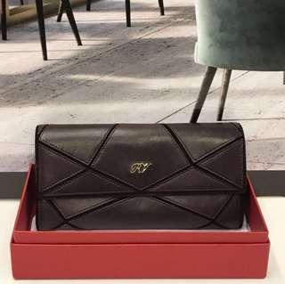 母親節特價貨品Roger Vivier Leather Long Wallet