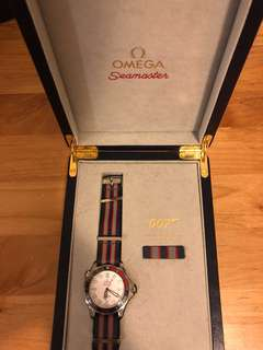 Omega seamaster commander watch, 007 special edition