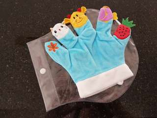 Hand Fingers Puppets for Baby Toddler Kid