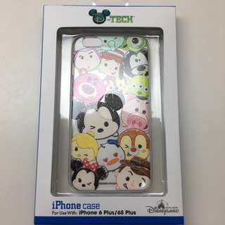 100% Real Disneyland iPhone 6plus/ 6s plus tsum tsum case