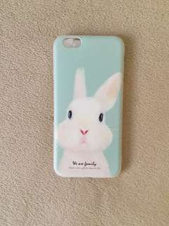 Iphone 6 - silicone case (Cute Bunny)