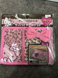 Hello Kitty leopard prints car accessory