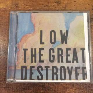 Low - the great destroyer cd