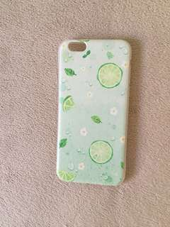 Iphone 6 - silicone case (Summer Lime)
