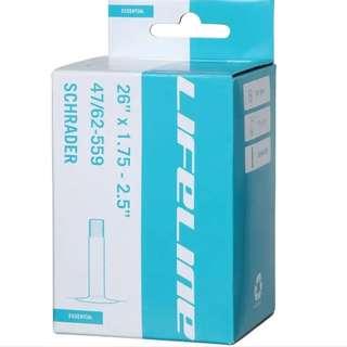 🆕! LifeLine 27.5 X 1.75 - 2.5 MTB Presta Inner Tube  650B #OK