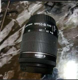 Canon len kit 18 - 55