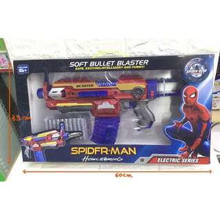 Spider man nerf gun