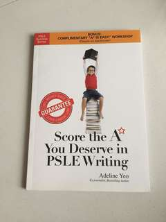PSLE writing guide by adeline yeo