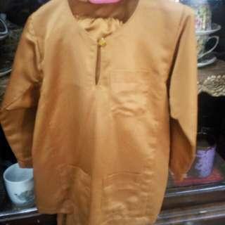 Baju Melayu koko  size L 2 yr