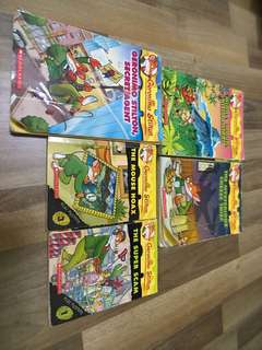 Geronimo Stilton story books at $5 each