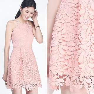 BNWT Fayth Courtney Crochet Dress XS