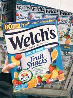[人氣熱賣]Welch's 純果汁軟糖80包@盒現貨