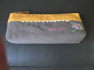 Flowery pencil case