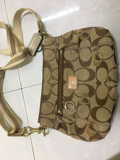 Authentic Coach Poppy Sling Bag