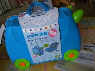 Trunki - Terrance Trunki (Blue) - Kids Luggage with Saddle!
