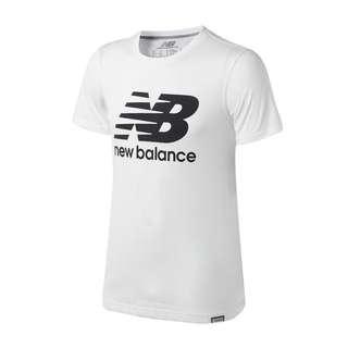 🚚 New balance保證正品代購✨NB經典logo圓領男款短T AMT63554WT
