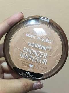 Wet and wild bronzer in TICKET TO BRAZIL