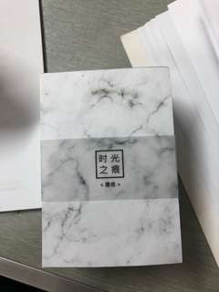 marble paper block