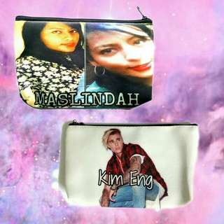Customized Cosmetic/Make up pouch or pencil case