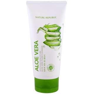Nature Republic Soothing & Moisture Aloe Vera 92% Cleansing Gel Cream 150ml