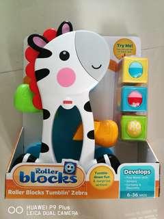Fisher-Price® Roller Blocks Tumblin' Zebra