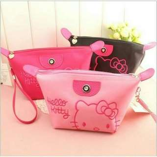 Tas kosmetik hello kitty