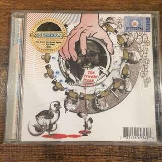 Dj shadow - the private press cd