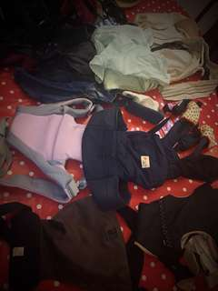 Good quality carriers and slings for sale, new and preloved