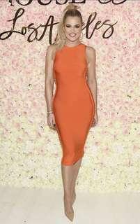 Kloe Kardashian Bandage dress