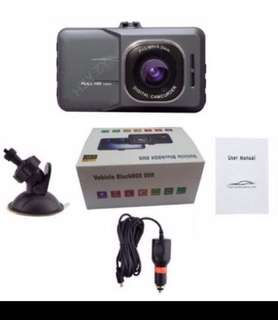 Ready stock! Full HD 1080P Car DVR Dashcam Camera build in G-Sensor IR Night vision.3 Inches Display. Offer price at $49.00(Up $68.00)(Estimate retail price:$90++)🚘🚙🚖