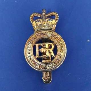Correction Service ER Hong Kong 襟章 (殖民地時期)懲教處