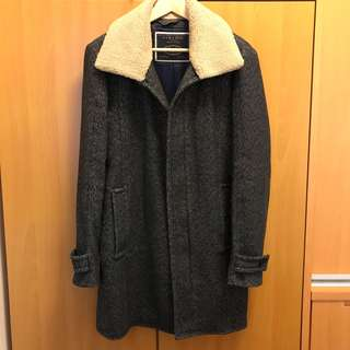 ZARA 灰色大褸/ ZARA Grey Coat.