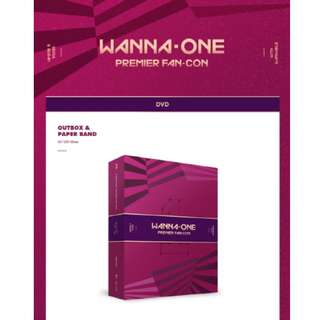 [PREORDER] WANNA 0NE (워너원) - DVD WANNA ONE PREMIER FAN-CON