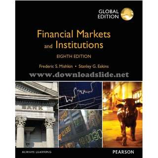 Financial Markets and Institutions 8th Global Edition